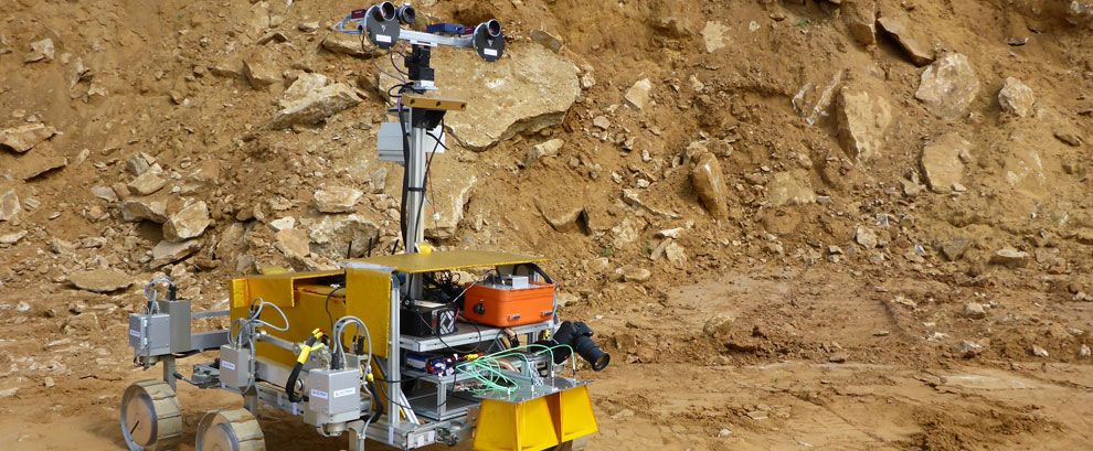SAFER field test rover