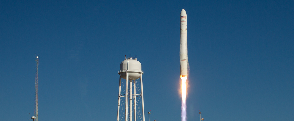 The Antares rocket
