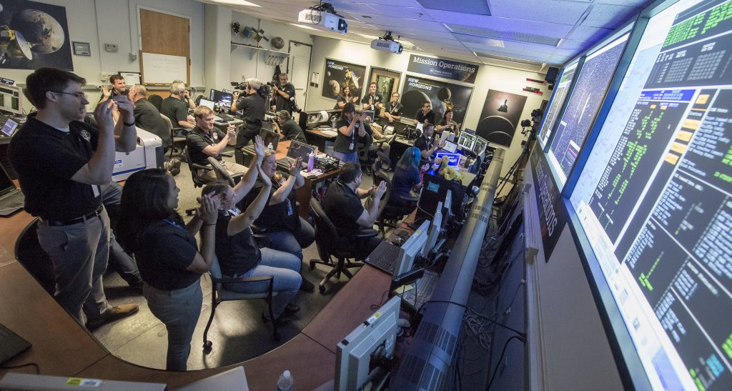 NASA's New Horizons 'Phones Home' Safe after Pluto Flyby