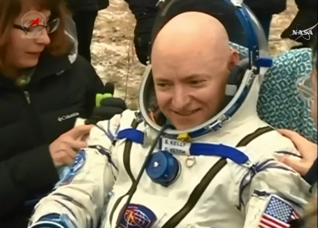 NASA Astronaut Scott Kelly Returns Safely to Earth after One-Year Mission