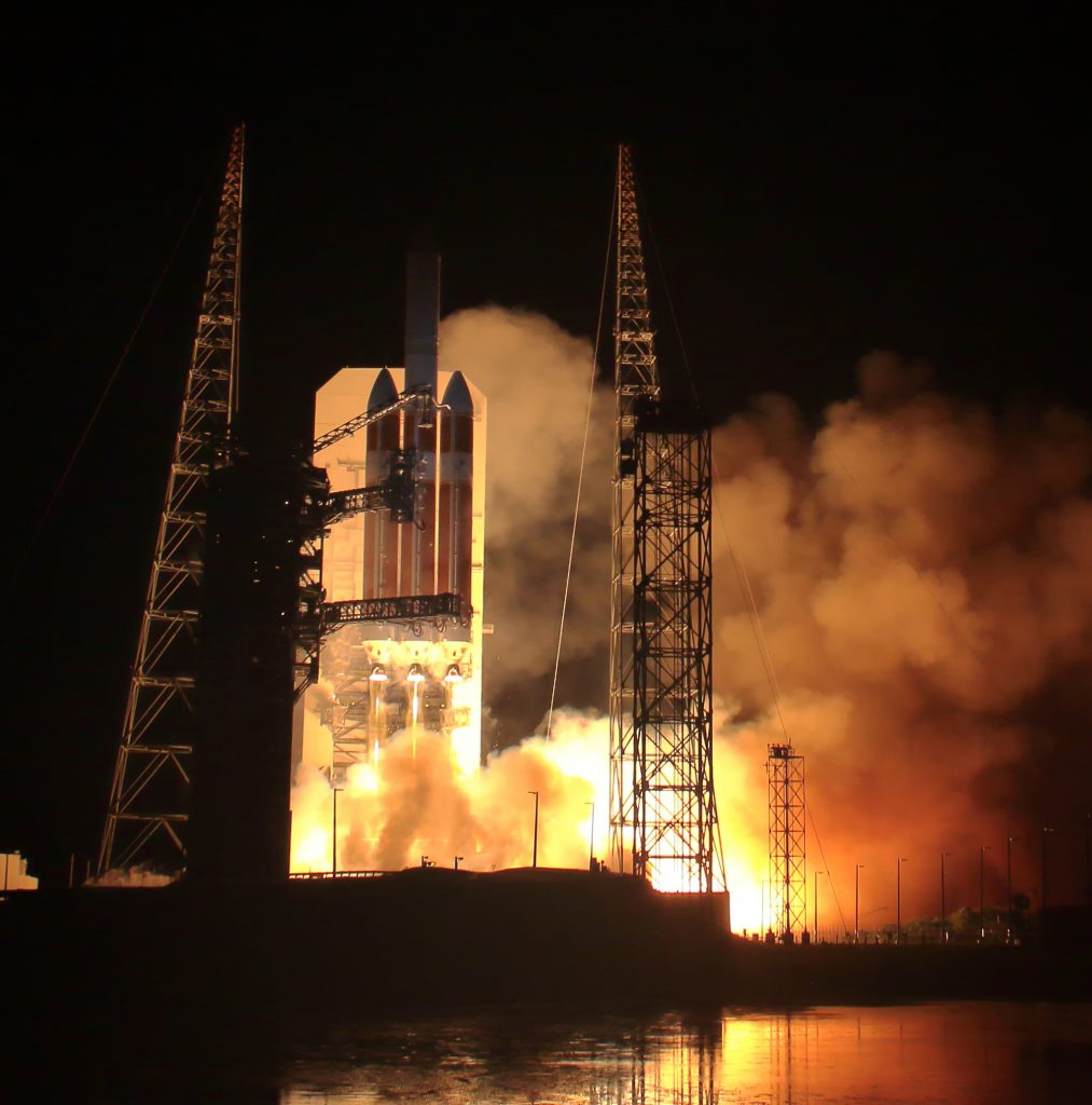 NASA Parker Solar Probe launch in historic lift off as 7-year mission begins.